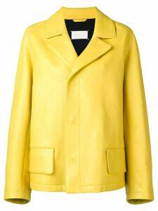 Maison Margiela classic cut jacket - Yellow