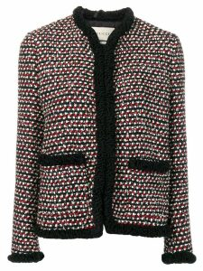Gucci boxy tweed jacket - Black