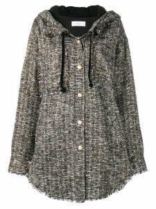 Faith Connexion oversized tweed jacket - Black
