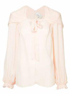 3.1 Phillip Lim front tie blouse - Pink
