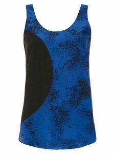 Mara Mac printed top - Blue