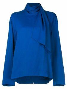 Joseph scarf neckline blouse - Blue
