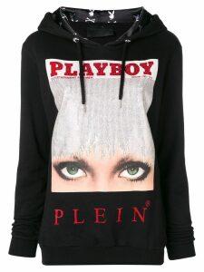 Philipp Plein Philipp Plein x Playboy hoodie - Black