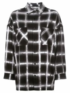 Amiri check shirt - Black