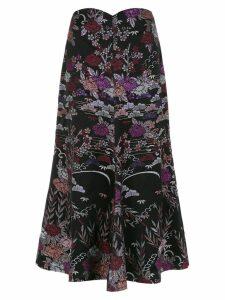 Framed Tokyo midi skirt - Black