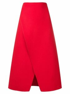 Ports 1961 A-line skirt - Red