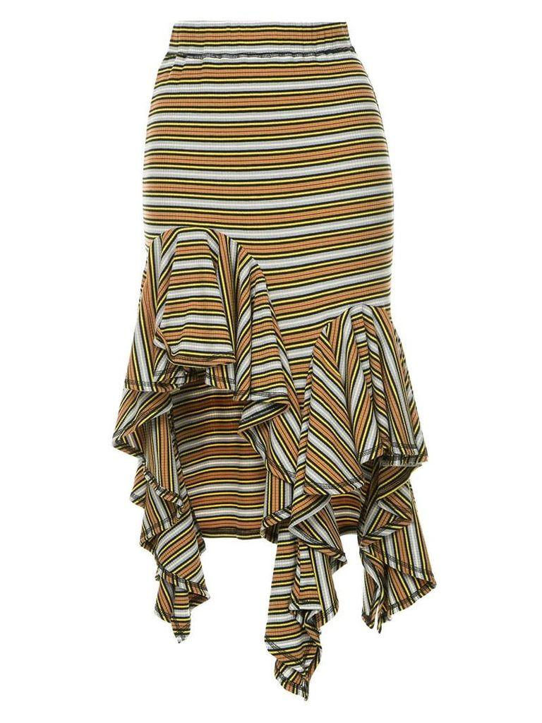 Romance Was Born Practical Magic Frill Skirt - Multicolour