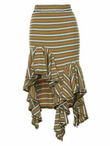 Romance Was Born Practical Magic Frill Skirt - Multicolour