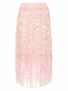 Romance Was Born Angel sequin skirt - Pink