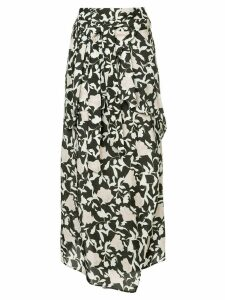 Christian Wijnants floral print skirt - Multicolour