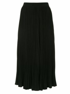 Co pleated midi skirt - Black