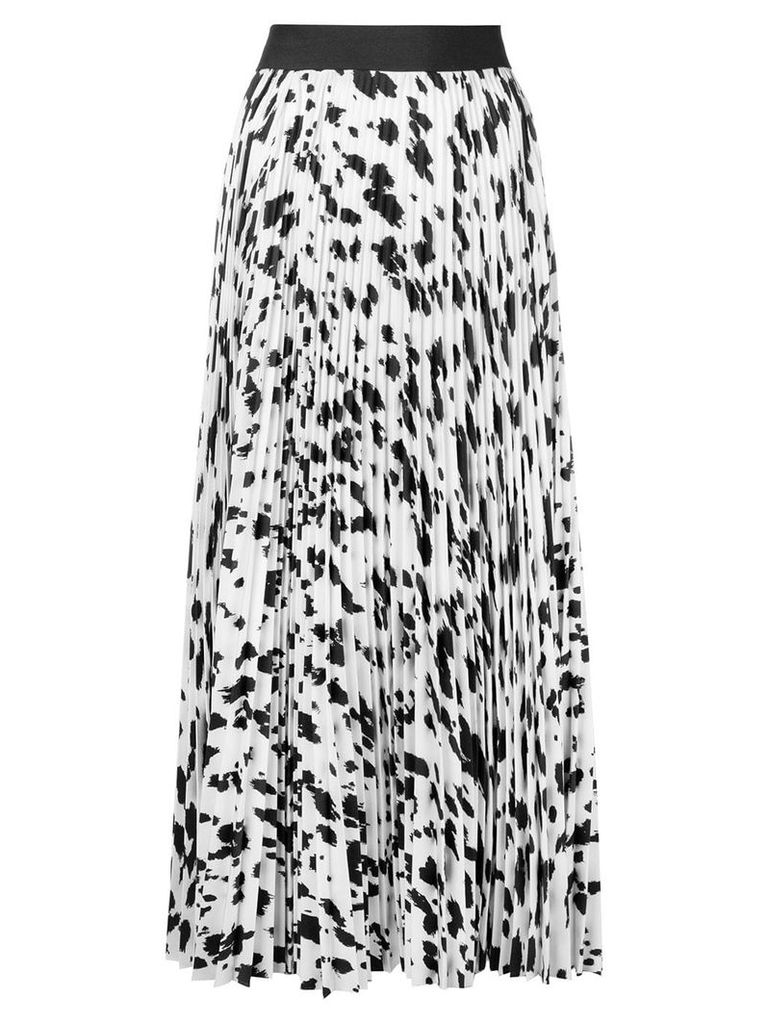 Ports 1961 pleated mid length skirt - White