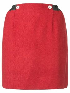 Andreas Kronthaler For Vivienne Westwood Eiir oversized skirt - Red