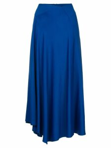 Joseph lightly pleated midi skirt - Blue