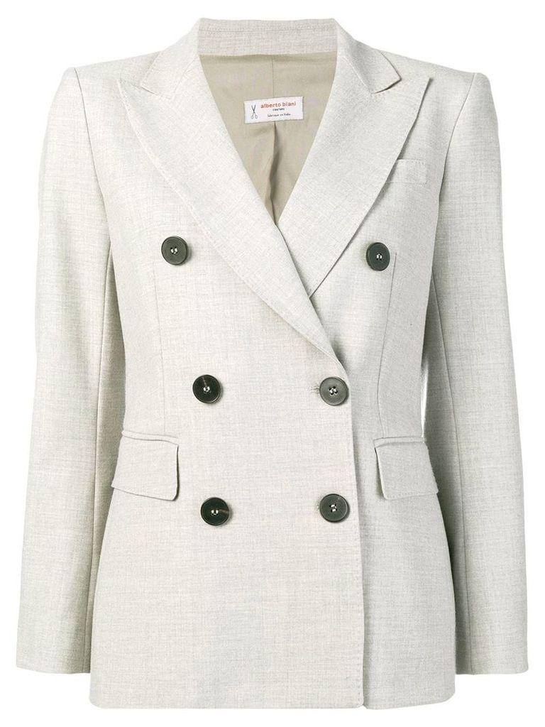 Alberto Biani double-breasted suit jacket - Grey