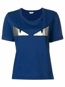 Fendi Bag Bugs T-shirt - Blue