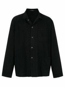 À La Garçonne vintage short parka - Black