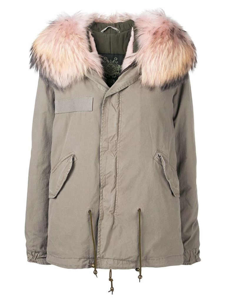 Mr & Mrs Italy hooded parka - Green