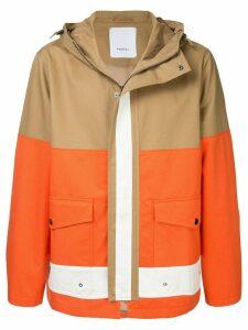 Ports V hooded coat - Brown