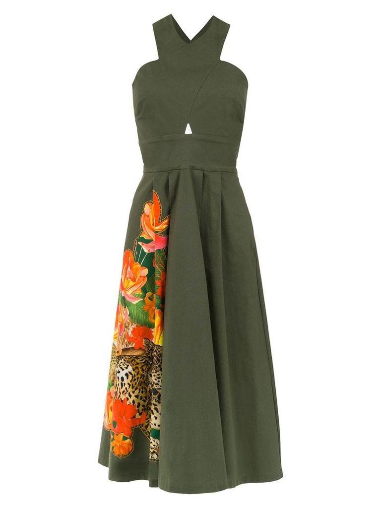Isolda Mumbai dress - Green