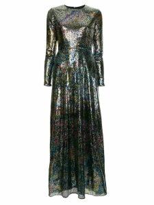 Mary Katrantzou flared sequins dress - Multicolour