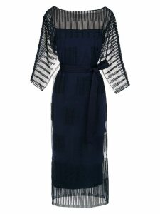 Gloria Coelho midi dress - Blue