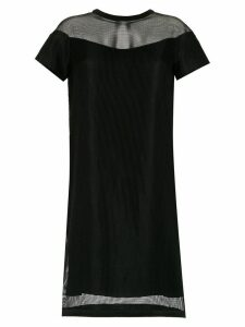 Gloria Coelho Armadura shift dress - Black