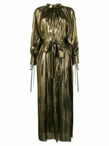 Osman Volita lamé gown - Gold