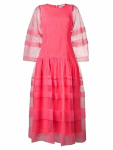 Molly Goddard Alexandra sheer dress - Pink