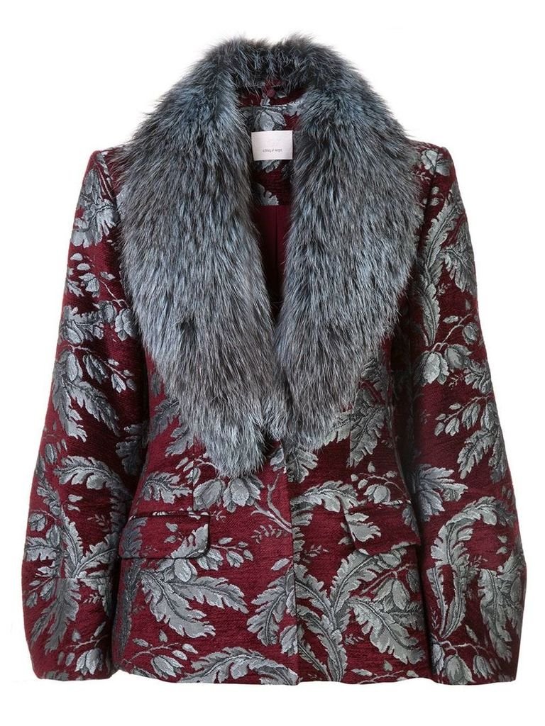 Cinq A Sept Courtney jacket - Red