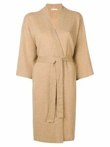 Filippa-K cashmere kimono - Brown