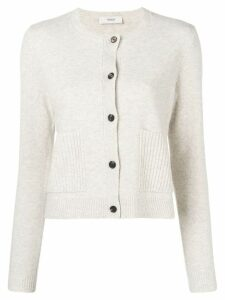 Pringle Of Scotland long-sleeve fitted cardigan - Neutrals
