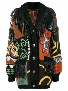 Etro oversized cardigan - Black