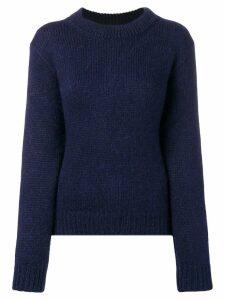 Stephan Schneider slicked sweater - Blue