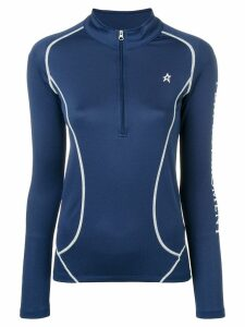 Perfect Moment Thermal half-zip jumper - Blue