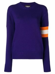 Calvin Klein 205W39nyc contrasting panels jumper - Blue