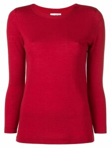 Sottomettimi knit round neck top - Red