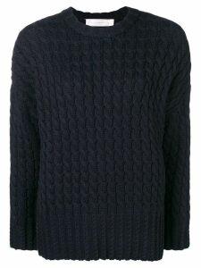 Victoria Victoria Beckham crew neck sweatshirt - Blue