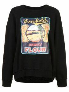 Monse Monsfield sweatshirt - Black