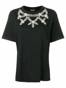 Ermanno Ermanno embellished T-shirt - Black