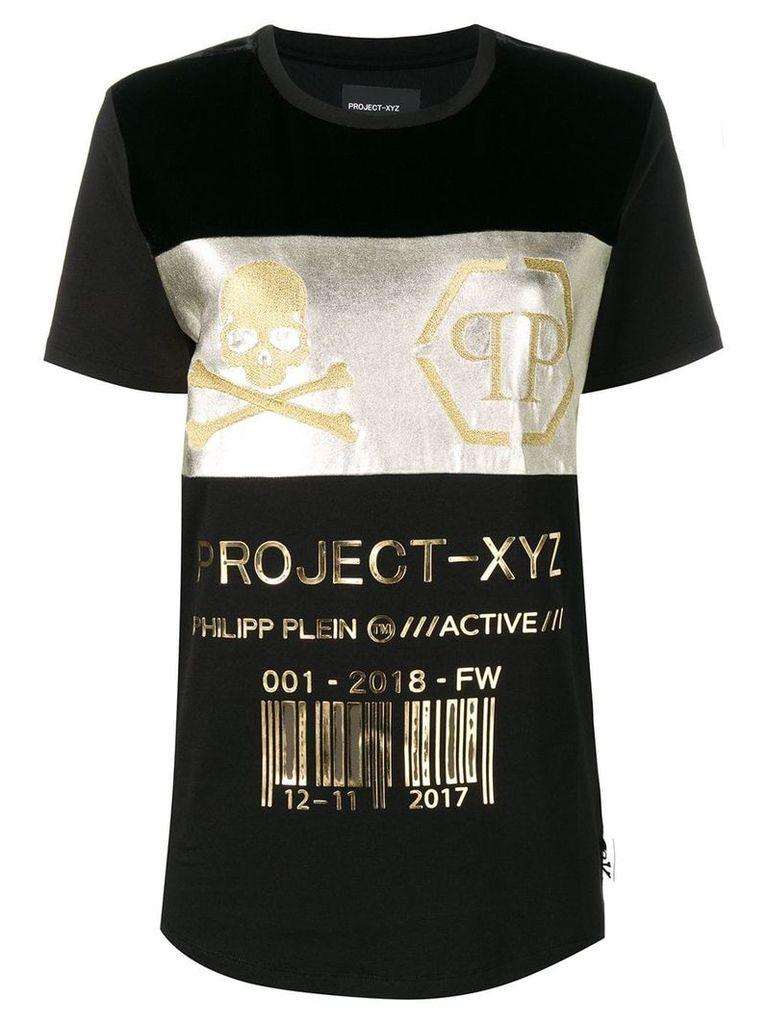 Philipp Plein project XYZ T-shirt - Black