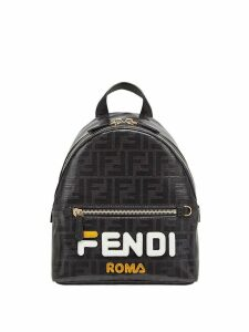 Fendi FendiMania mini backpack - Black