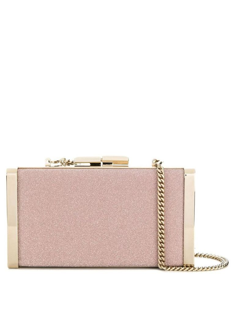 Jimmy Choo J Box clutch bag - Pink