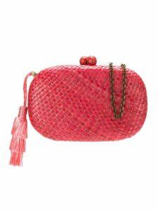 Serpui hanging tassel clutch - Pink