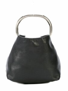 Prada Pre-Owned small top handle clutch - Black