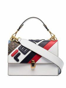 Fendi FendiMania Kan I shoulder bag - White