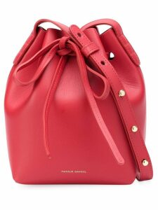 Mansur Gavriel Mini Mini Bucket bag - Red