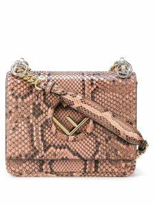 Fendi logo shoulder bag - Pink