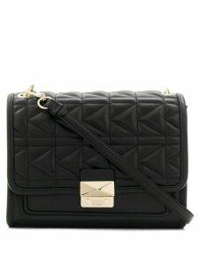 Karl Lagerfeld K/Kuilted shoulder bag - Black