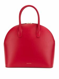 Mansur Gavriel Top Handle Rounded Bag - Red